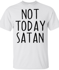 Candace Cameron Bure Not Today Satan Youth Kids T-Shirt