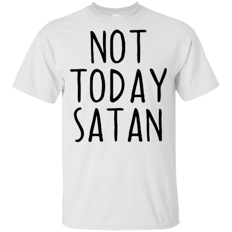 ae59537fa4 Candace Cameron Bure Not Today Satan Youth Kids T-Shirt - YeyVibe T ...