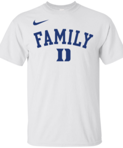 Duke Blue Devils March Madness Family Basketball T-Shirt
