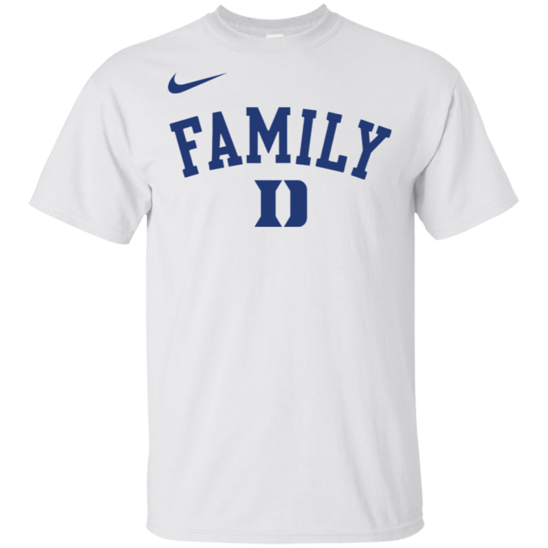 Duke Blue Devils March Madness Family Basketball T Shirt Office Tee