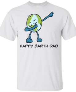 Happy Earth Day Dabbing Youth Kids T-Shirt