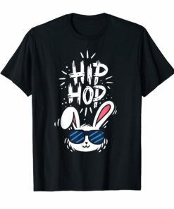 Happy Easter Day T-Shirt - Hip Hop Bunny Cute Shirt Gift