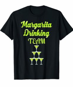 Margarita Drinking Team Funny Cinco de Mayo Fiesta T-shirt