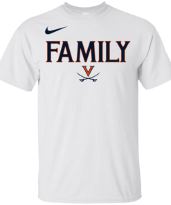 UVA Virginia Cavaliers Family Basketball Youth Kids T-Shirt