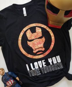 Avengers Endgame | I love you 3000 shirt | Iron man shirt | Marvel shirt | Tony stark shirt | Captain America | infinity wars | Thanos