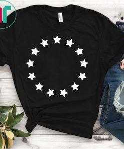 13 Colonies T-Shirt Stars Betsy Ross Flag USA American
