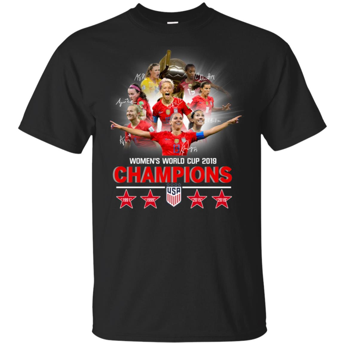 the best attitude d7fa0 70e28 2019 Uswnt World Cup Champions T Shirt