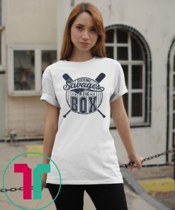 Yankees Fucking Savages in The Box T-Shirt