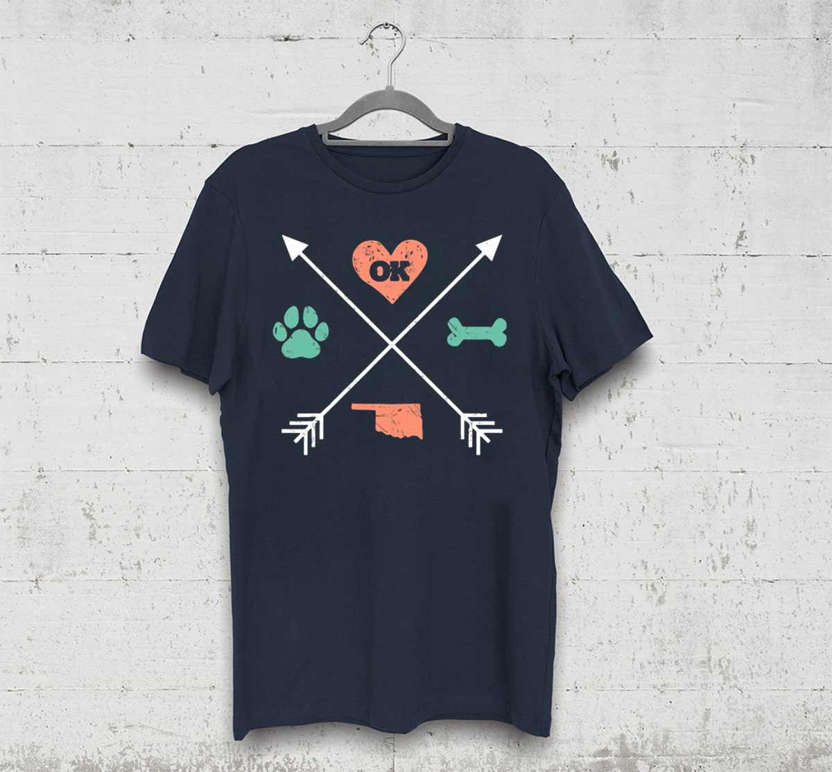 Dog Rescue Oklahoma T-Shirt