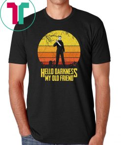 Krueger Michael Jason Leatherface Hello Darkness my old friend shirts