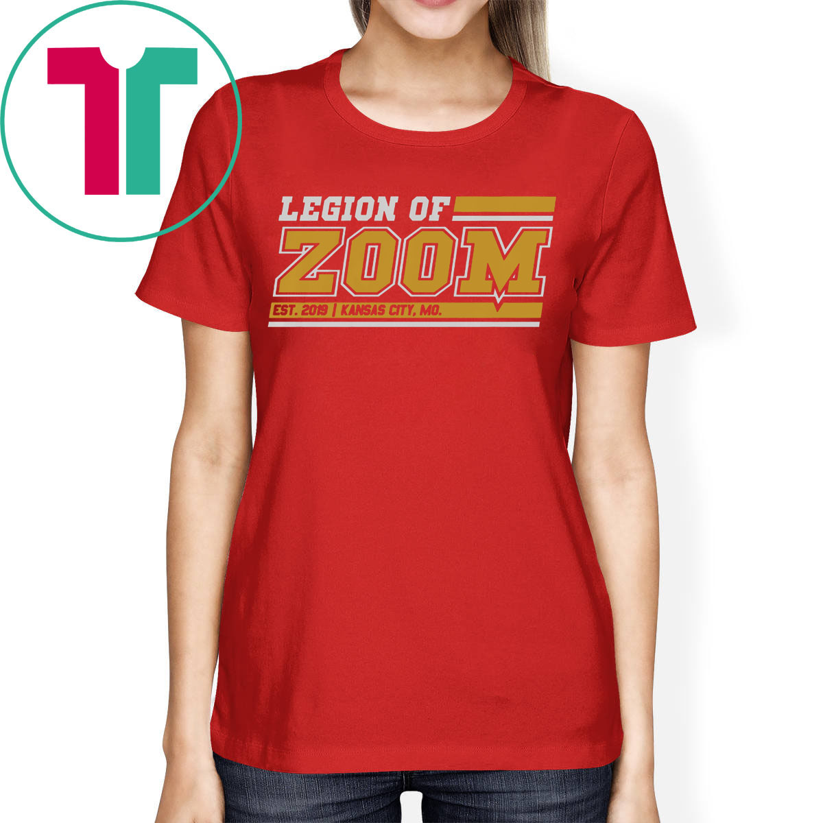 Legion of Zoom Shirt - Kansas City Football