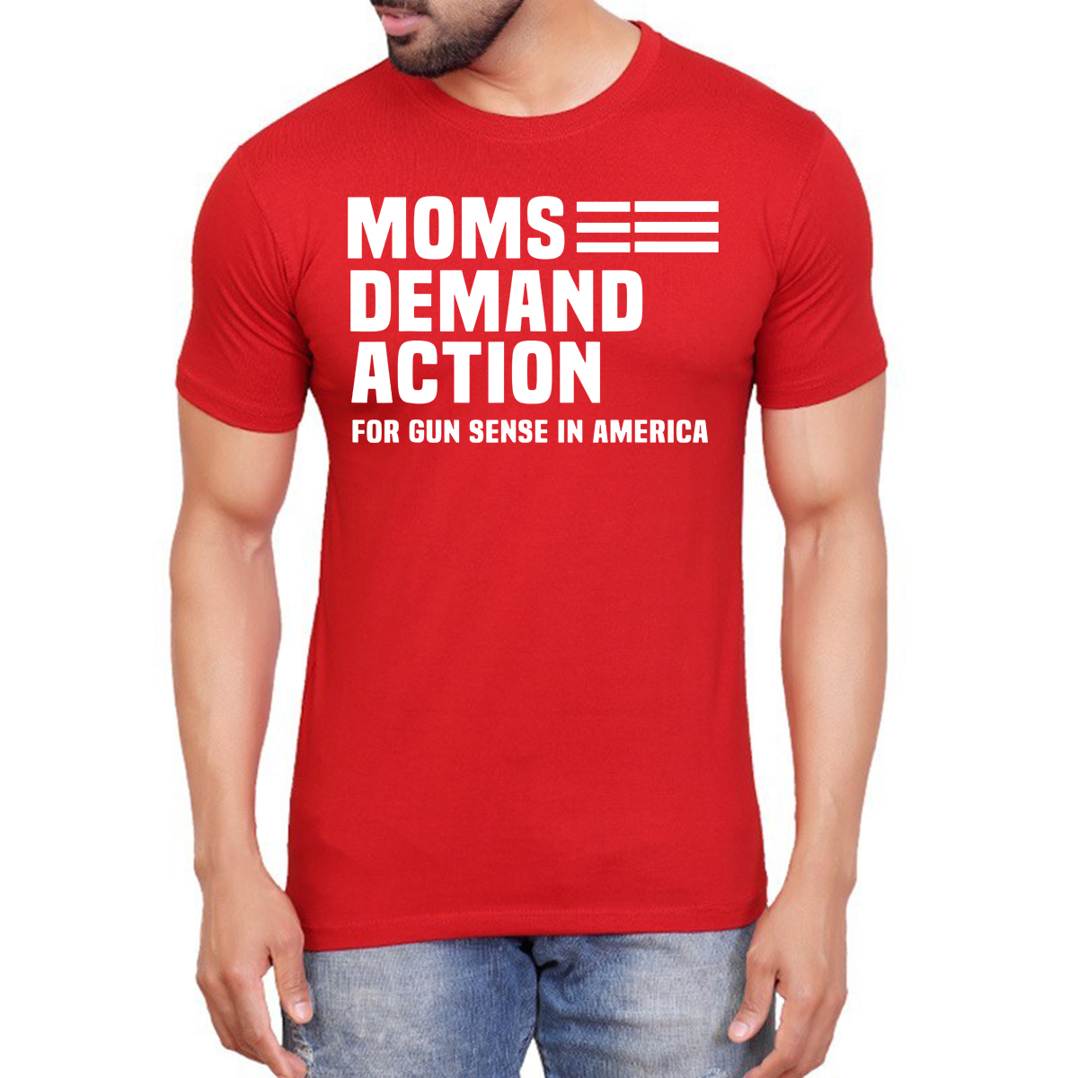 Moms Demand Action Red Shirt