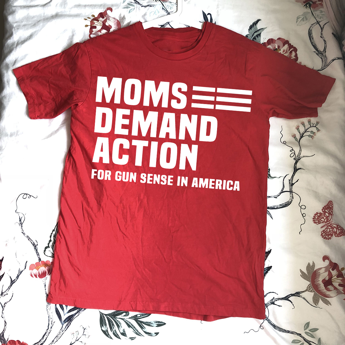Moms Demand Action Red Shirts
