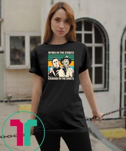 Myers in the streets Krueger in the sheets vintage shirts