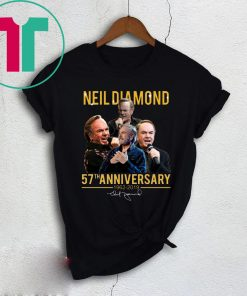 Neil Diamond 57th Anniversary shirt