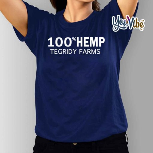 100% Hemp Tegridy Farms Parody T-Shirts