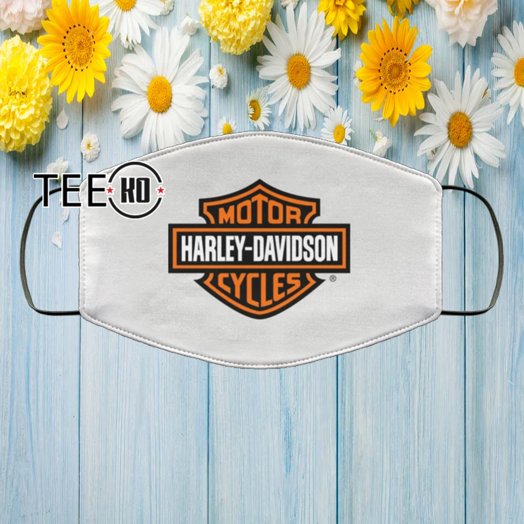 HARLEY DAVIDSON FACE MASK FILTER US 2020