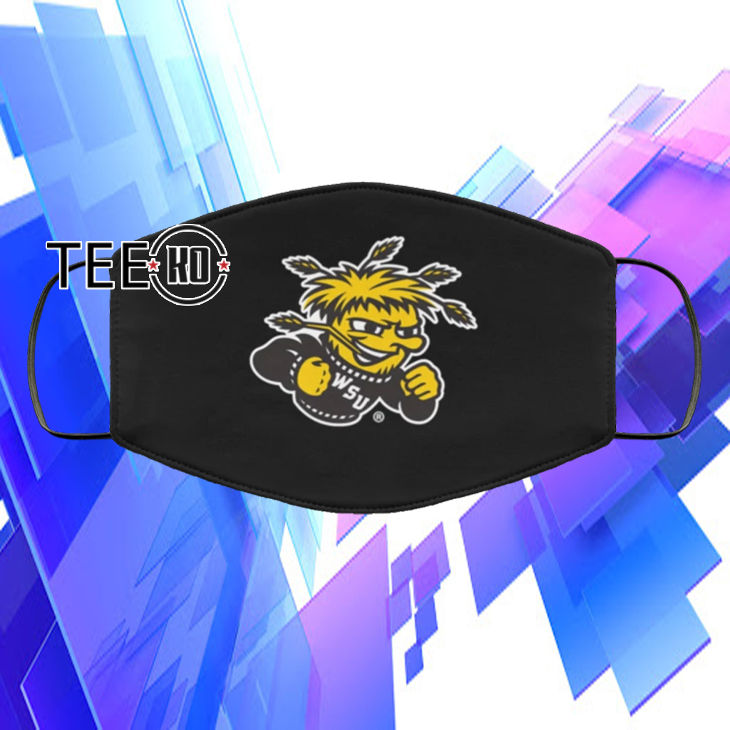 WICHITA STATE FACE MASK CLOTH FACE MASK FILTER US